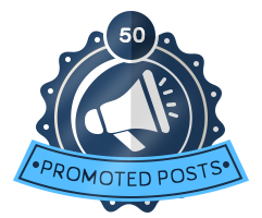 50th Promoted Badge